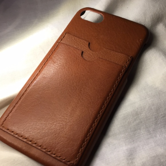 best website 3fb96 40277 madewell leather iphone 6s case!